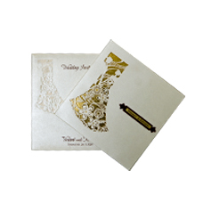 Bride and Groom Theme Card